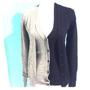 Marc by Marc Jacobs Button-up Wool Double Cardigan